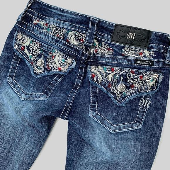 Miss Me Denim - Miss Me Signature Bootcut Jeans 25